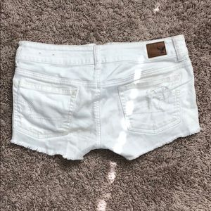 American Eagle Outfitters Shorts - White Jean shorts